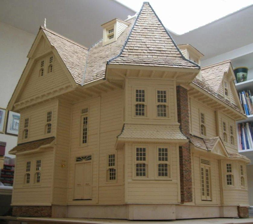 Кукольный дом ЕВРОПА со светом