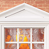 Особняк MONTGOMERY HALL. Вид со стороны фасада. Окно