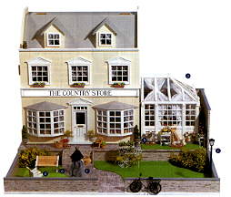 Жилой дом The COUNTRY STORE. Вид со стороны фасада