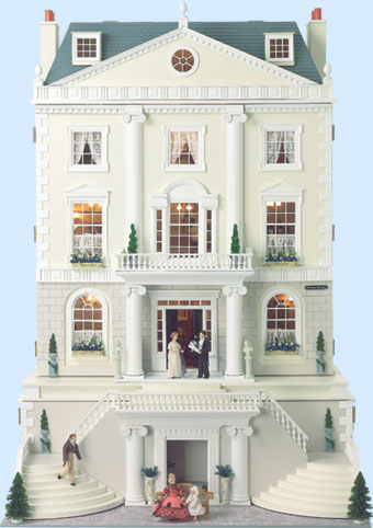 Дворец GROSVENOR HALL. Вид со стороны фасада