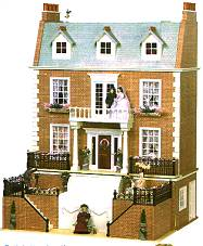 Вилла HENLEY HOUSE. Вид со стороны фасада